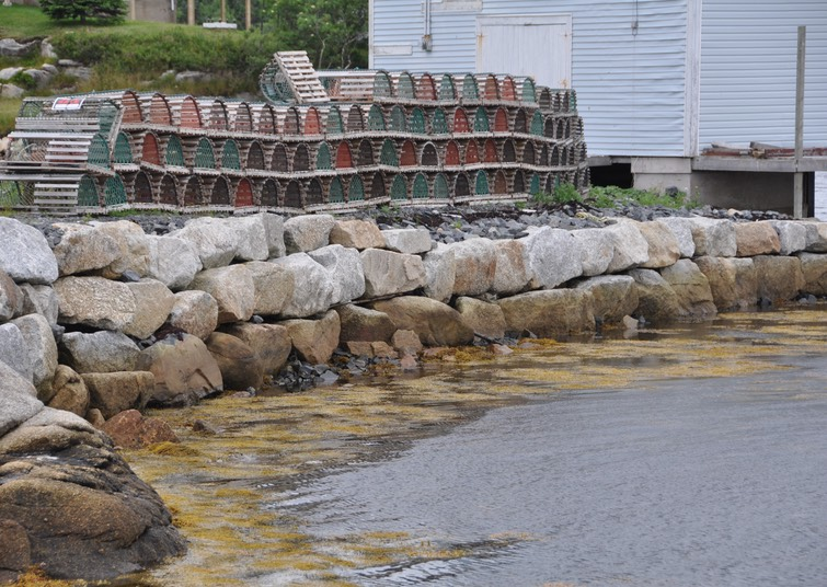 15-Lobster Traps on the South Shore, Halifax, Nova Scotia