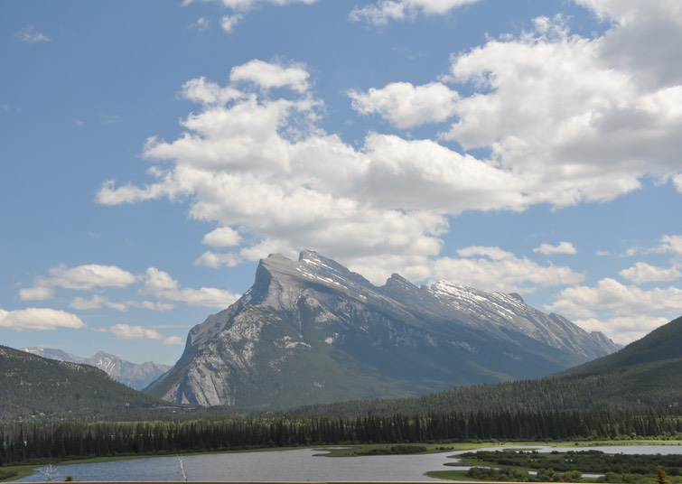 2-Rocky Mountains near Banff, Alberta