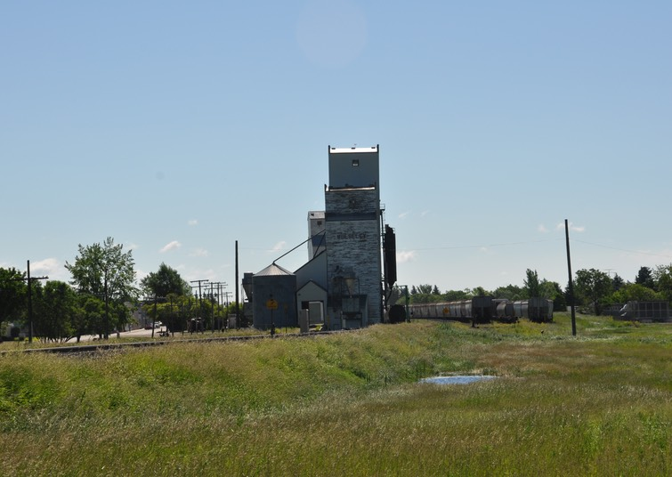 4-Grain elevator at Wolseley, Saskatchewan